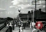 Image of tourists West Palm Beach Florida USA, 1936, second 41 stock footage video 65675031916