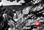Image of Yellowstone National Park United States USA, 1940, second 13 stock footage video 65675031925