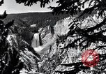 Image of Yellowstone National Park United States USA, 1940, second 17 stock footage video 65675031925