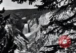 Image of Yellowstone National Park United States USA, 1940, second 18 stock footage video 65675031925