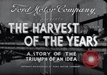Image of Ford Motor Company Dearborn Michigan USA, 1938, second 8 stock footage video 65675031926