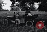 Image of camping in car United States USA, 1920, second 19 stock footage video 65675031931