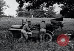 Image of camping in car United States USA, 1920, second 43 stock footage video 65675031931