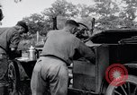 Image of camping in car United States USA, 1920, second 46 stock footage video 65675031931