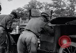 Image of camping in car United States USA, 1920, second 47 stock footage video 65675031931