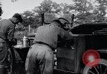 Image of camping in car United States USA, 1920, second 48 stock footage video 65675031931