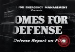 Image of Homes For Defense United States USA, 1941, second 6 stock footage video 65675031935