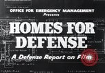 Image of Homes For Defense United States USA, 1941, second 10 stock footage video 65675031935