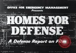 Image of Homes For Defense United States USA, 1941, second 13 stock footage video 65675031935
