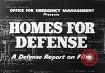 Image of Homes For Defense United States USA, 1941, second 14 stock footage video 65675031935