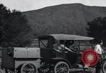 Image of camping trailer United States USA, 1916, second 10 stock footage video 65675031947