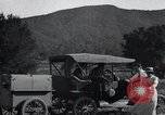 Image of camping trailer United States USA, 1916, second 16 stock footage video 65675031947