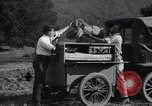 Image of camping trailer United States USA, 1916, second 24 stock footage video 65675031947