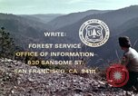 Image of reforest areas California United States USA, 1970, second 60 stock footage video 65675031952