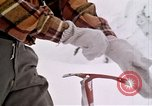 Image of precautions while skiing California United States USA, 1970, second 27 stock footage video 65675031953