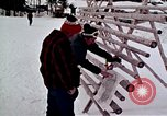 Image of precautions while skiing California United States USA, 1970, second 28 stock footage video 65675031953