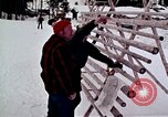 Image of precautions while skiing California United States USA, 1970, second 31 stock footage video 65675031953
