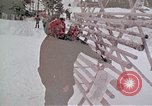 Image of precautions while skiing California United States USA, 1970, second 32 stock footage video 65675031953