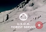 Image of precautions while skiing California United States USA, 1970, second 56 stock footage video 65675031953