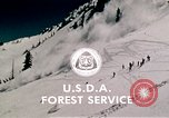 Image of precautions while skiing California United States USA, 1970, second 57 stock footage video 65675031953