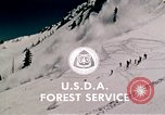Image of precautions while skiing California United States USA, 1970, second 58 stock footage video 65675031953