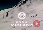 Image of precautions while skiing California United States USA, 1970, second 60 stock footage video 65675031953