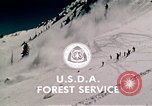 Image of precautions while skiing California United States USA, 1970, second 61 stock footage video 65675031953