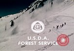 Image of precautions while skiing California United States USA, 1970, second 62 stock footage video 65675031953