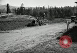 Image of tractor drawn road grader United States USA, 1930, second 5 stock footage video 65675031958