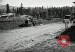 Image of tractor drawn road grader United States USA, 1930, second 9 stock footage video 65675031958