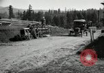 Image of tractor drawn road grader United States USA, 1930, second 15 stock footage video 65675031958