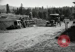 Image of tractor drawn road grader United States USA, 1930, second 16 stock footage video 65675031958