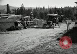 Image of tractor drawn road grader United States USA, 1930, second 17 stock footage video 65675031958