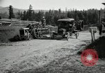 Image of tractor drawn road grader United States USA, 1930, second 19 stock footage video 65675031958