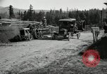 Image of tractor drawn road grader United States USA, 1930, second 20 stock footage video 65675031958