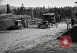 Image of tractor drawn road grader United States USA, 1930, second 22 stock footage video 65675031958