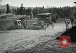 Image of tractor drawn road grader United States USA, 1930, second 24 stock footage video 65675031958