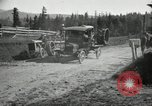 Image of tractor drawn road grader United States USA, 1930, second 25 stock footage video 65675031958