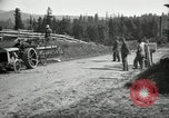 Image of tractor drawn road grader United States USA, 1930, second 32 stock footage video 65675031958