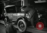 Image of Assembly of Model T Fifteen Millionth car Highland Park Michigan USA, 1927, second 2 stock footage video 65675031960