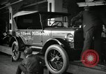 Image of Assembly of Model T Fifteen Millionth car Highland Park Michigan USA, 1927, second 8 stock footage video 65675031960