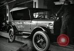 Image of Assembly of Model T Fifteen Millionth car Highland Park Michigan USA, 1927, second 10 stock footage video 65675031960