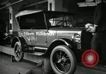 Image of Assembly of Model T Fifteen Millionth car Highland Park Michigan USA, 1927, second 13 stock footage video 65675031960