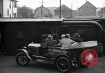 Image of Motorcade for Model T Fifteen Millionth car Highland Park Michigan USA, 1927, second 23 stock footage video 65675031961