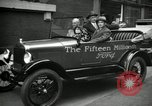 Image of Motorcade for Model T Fifteen Millionth car Highland Park Michigan USA, 1927, second 53 stock footage video 65675031961
