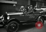 Image of Motorcade for Model T Fifteen Millionth car Highland Park Michigan USA, 1927, second 58 stock footage video 65675031961
