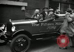 Image of Motorcade for Model T Fifteen Millionth car Highland Park Michigan USA, 1927, second 60 stock footage video 65675031961