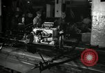 Image of Motor of Model T Fifteen Millionth car Highland Park Michigan USA, 1927, second 44 stock footage video 65675031964