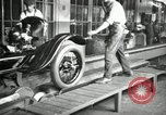 Image of Chassis of Model T Fifteen Millionth car Highland Park Michigan USA, 1927, second 4 stock footage video 65675031965