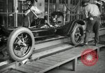 Image of Chassis of Model T Fifteen Millionth car Highland Park Michigan USA, 1927, second 8 stock footage video 65675031965